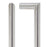 Vela Satin Chrome Handle Hardware Pack