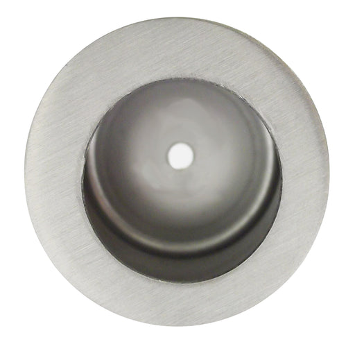 Virgo Satin Chrome Pocket Door Finger Pull Ironmongery