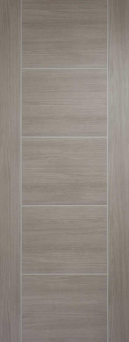 Light Grey Laminated Vancouver Internal Door Fire Rated