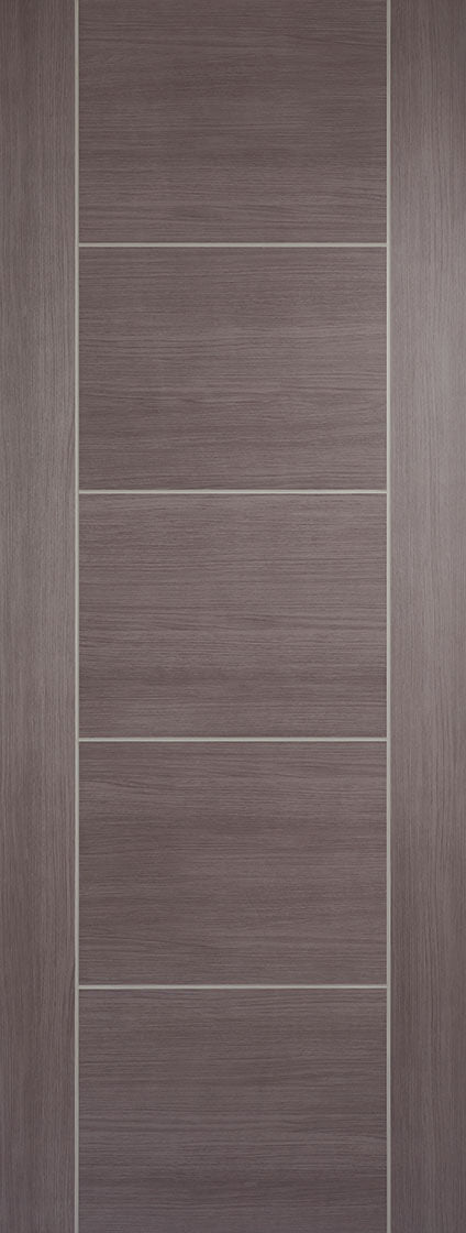 Medium Grey Laminated Vancouver Internal Door Fire Rated