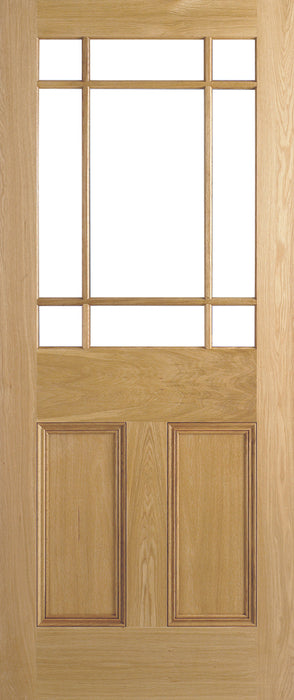 Oak Downham Unglazed 9L Internal Door