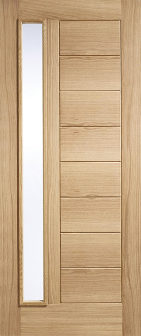 Oak Goodwood Glazed 1L External Door