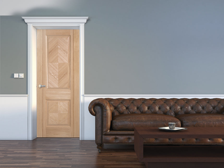 Oak Madrid Internal Door