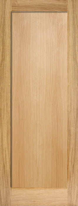 Oak Pattern 10 One Panel Internal Door