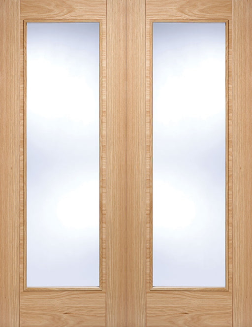 Oak Vancouver Glazed Pair Internal French Door