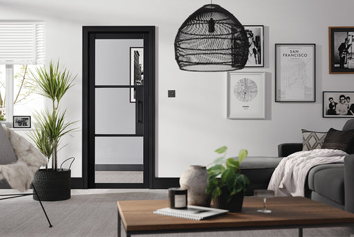 Black Tribeca 3L Internal Door