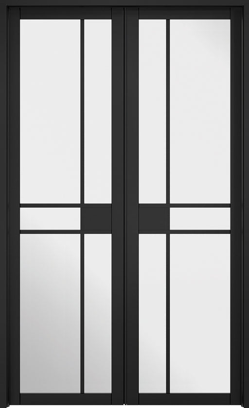 Room Divider Black Greenwich W4 Internal Room Divider