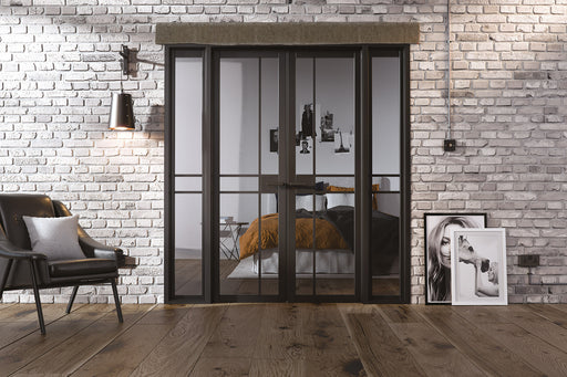 Room Divider Black Greenwich W6 Internal Room Divider