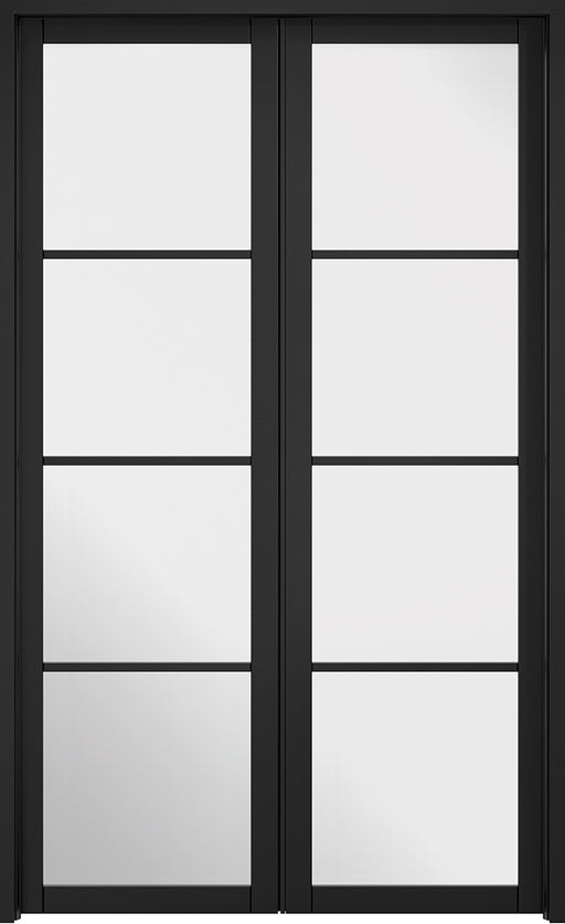 Room Divider Black Soho W4 Internal Room Divider