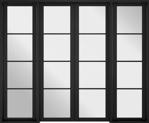 Room Divider Black Soho W8 Internal Room Divider