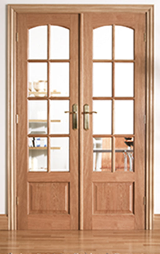 Room Dividers Worthing W4 Oak Internal Room Divider