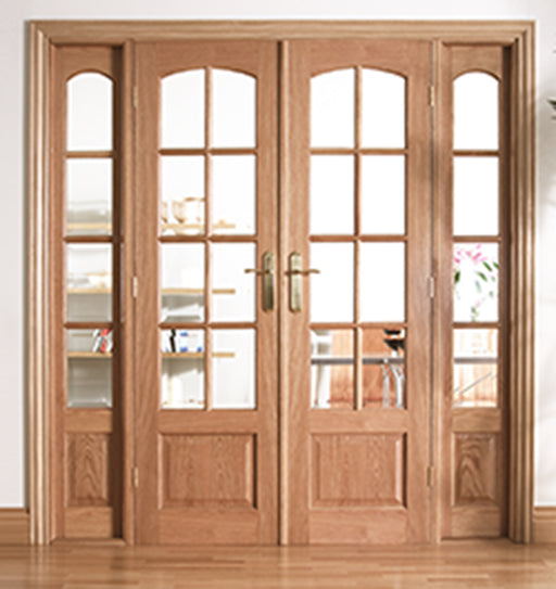 Room Dividers Worthing W6 Oak Internal Room Divider