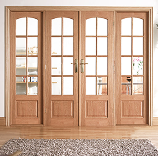 Room Dividers Worthing W8 Oak Internal Room Divider