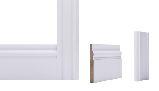 White Primed Ulysses Architrave