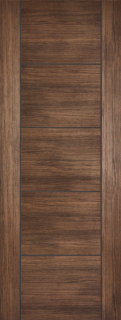 Walnut Laminated Vancouver Internal Door Fire Rated