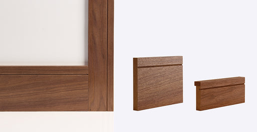 Walnut Shaker Skirting