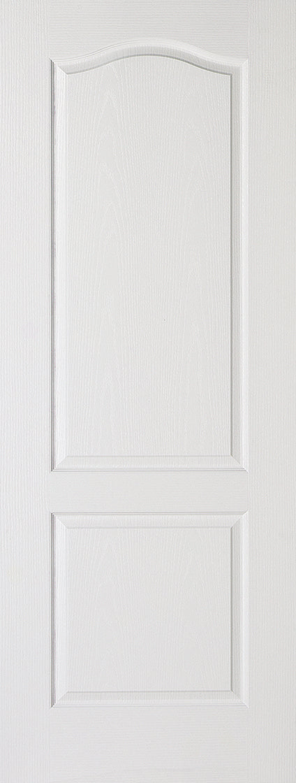 White Moulded Classical 2P Internal Door Fire Rated