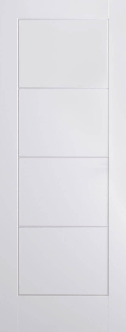 White Moulded Ladder Internal Door