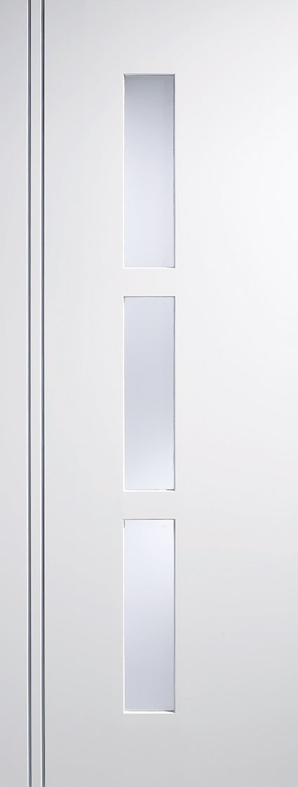 White Sierra Blanco Glazed 3L Internal Door