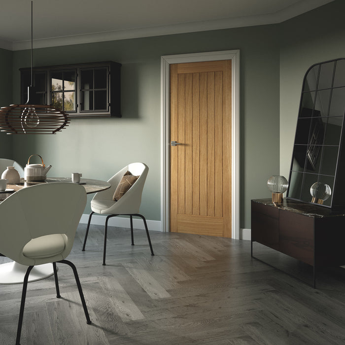 Suffolk Essential Internal Oak Fire Door