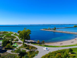 A view of Wilkeson Pointe - Outer Harbor of Buffalo
