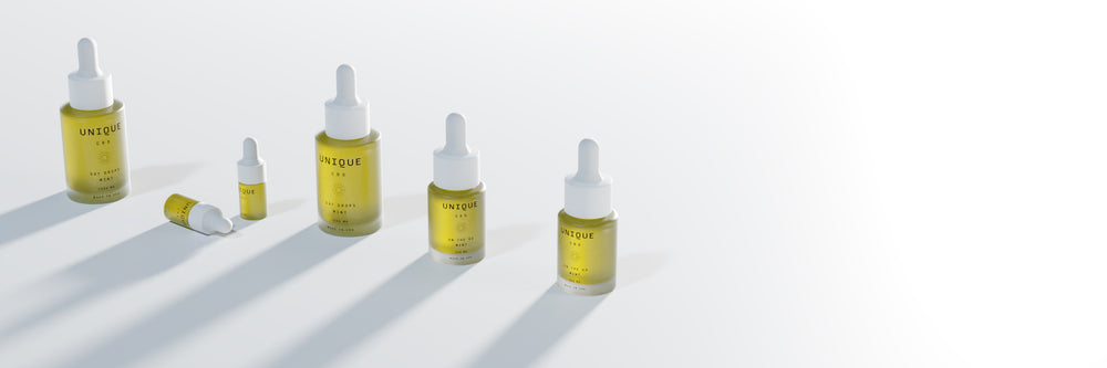 CBD oil bottle sizes