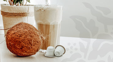 Double Shot Coconut Iced-Presso: A Refreshingly Sustainable Coffee Recipe