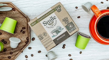 Smile Coffee Werks®: Tiny Coffee Pod Brand On A Huge Sustainability Mission
