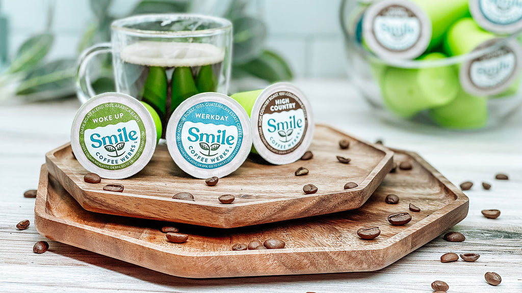 Commercially Compostable K-Cup® Style Coffee Pods In 3 Amazing Flavors