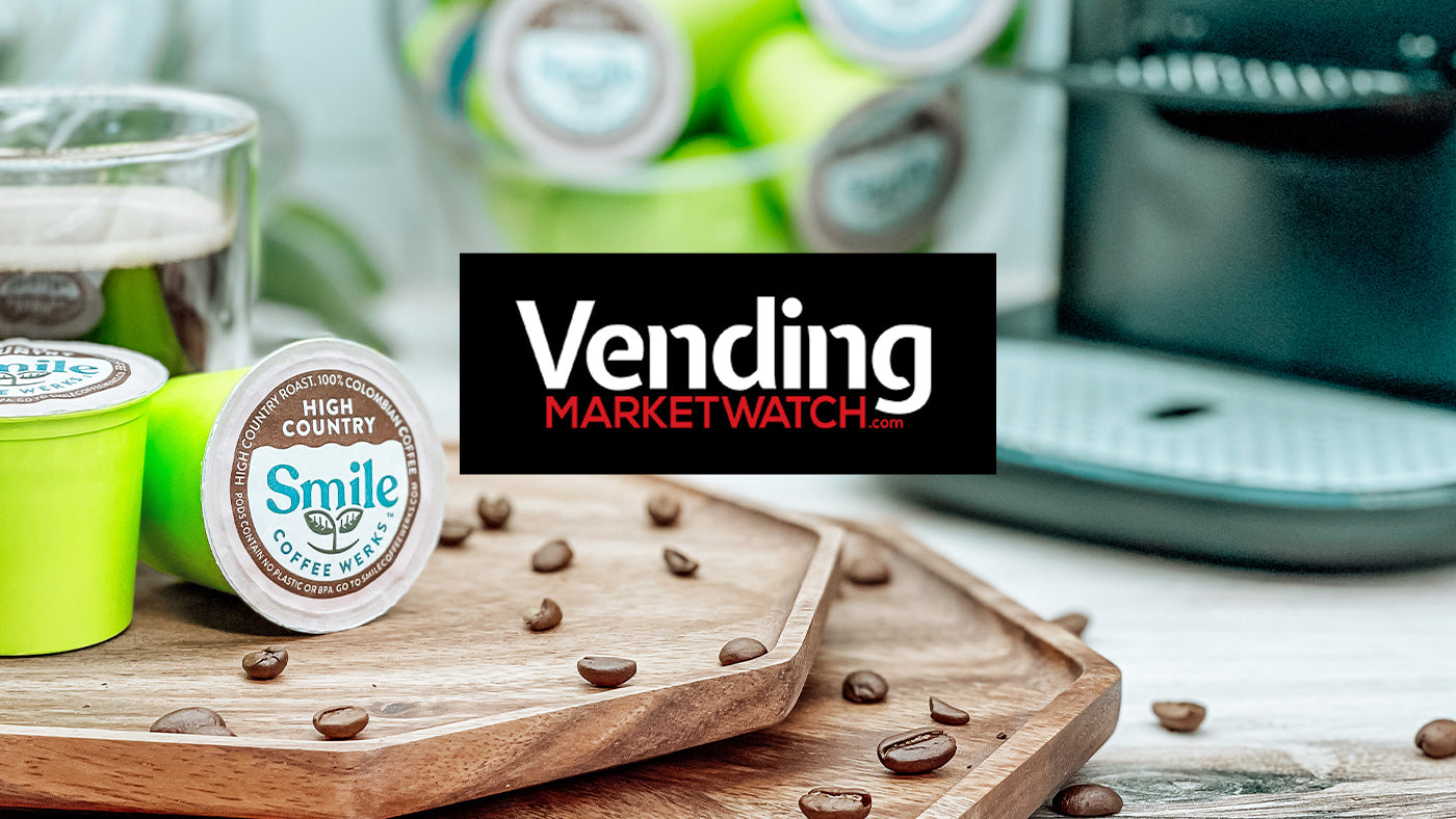 Smile Coffee Werks Compostable Coffee Pods