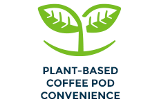 Plant-Based Coffee Pod Convenience