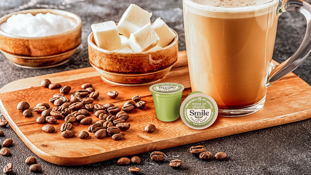 Sustainably Smarter Blended Butter Coconut Coffee