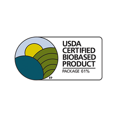 USDA Certified Biobased Product - Package 61%