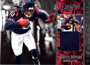 2018 Panini Prestige *Highlight Reel*   -  DeAndre Hopkins (Jersey Patch Relic) #HR - DH