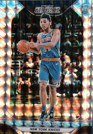 2018-19 Prizm Mosaic - Alonzo Trier (Silver Parallel Refractor, Rookie, RC) #40