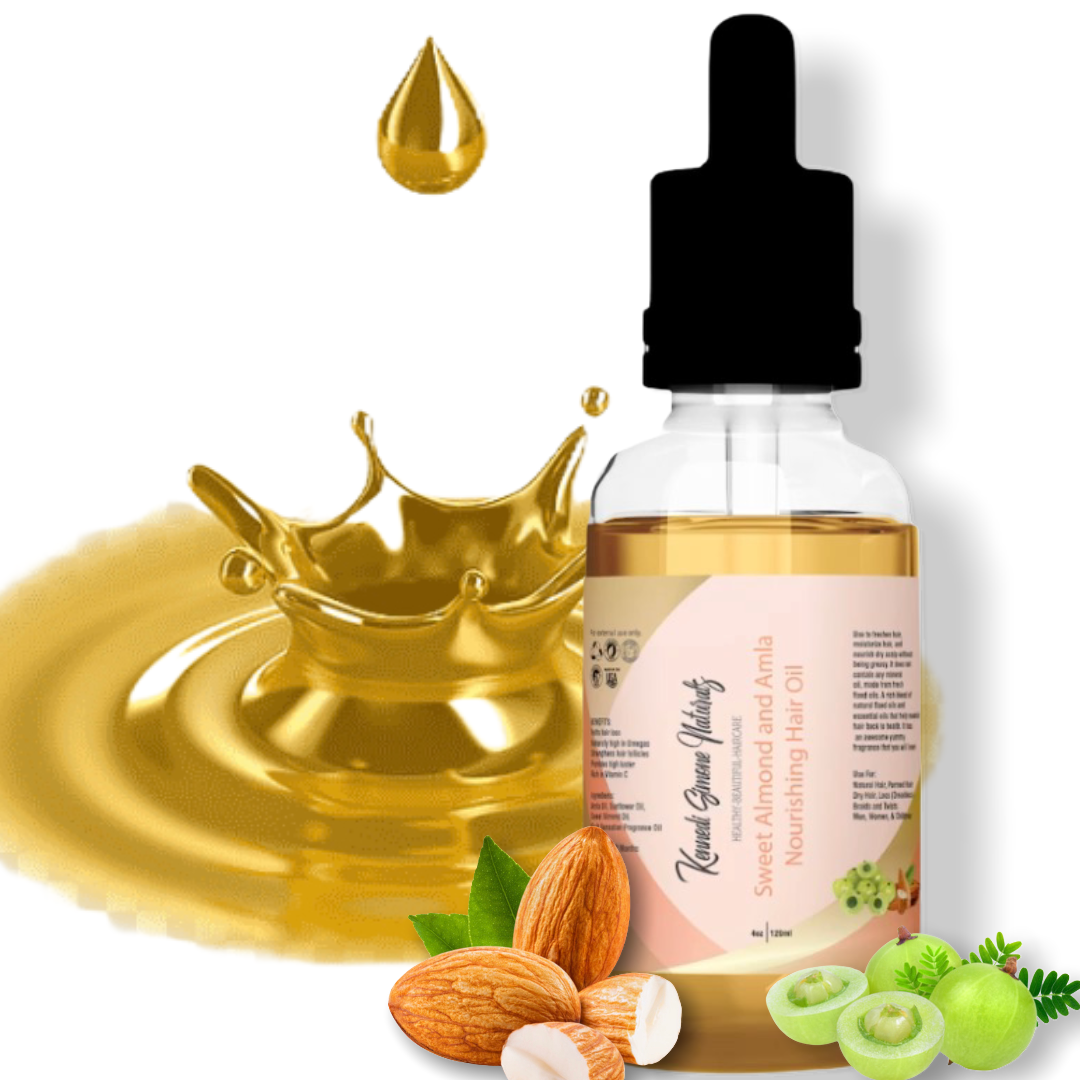 "Sweet Almond and Amla Nourishing Hair Oil (LIMITED EDITION SCENT ""Oh so Hollywood"")"