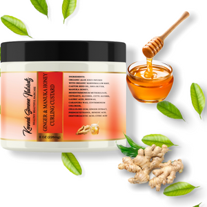 Ginger & Manuka Honey Styling Custard (NEW PRODUCT)