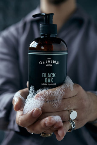 All In One Wash - Black Oak by Olivina - All Men's Style And Wellness