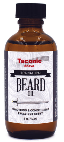 Excalibur - All Natural Beard Oil by Taconic Shave - All Men's Style And Wellness