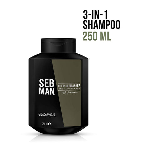 The Multi-Tasker - Beard, Hair and Body Wash by Seb Man - All Men's Style And Wellness