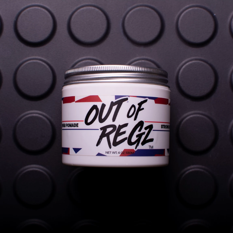 Red White & Blue - Strong Pomade by Out Of Regz - All Men's Style And Wellness