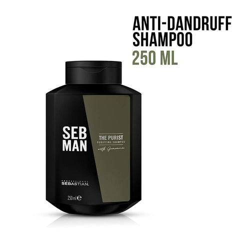 The Purist - Anti-Dandruff Shampoo by Seb Man - All Men's Style And Wellness