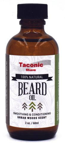 Urban Woods - All Natural Beard Oil by Taconic Shave - All Men's Style And Wellness