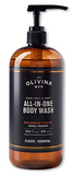 All In One Wash - Bourbon Cedar by Olivina - All Men's Style And Wellness