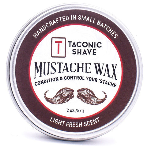 All Natural Mustache Wax by Taconic Shave - All Men's Style And Wellness