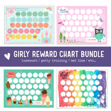 Load image into Gallery viewer, Girl Reward Chart Bundle