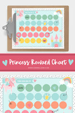 Load image into Gallery viewer, Princess and Unicorn Chart