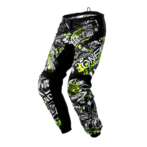 O'Neal Element Attack Black-Green-HiVis