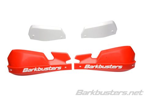 BarkBusters VPS Plastic Guards Only Red