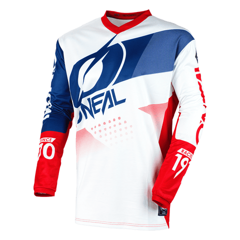 O'Neal Element Factor White/Blue/Red